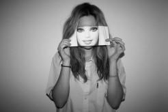 sonrisa y mascara
